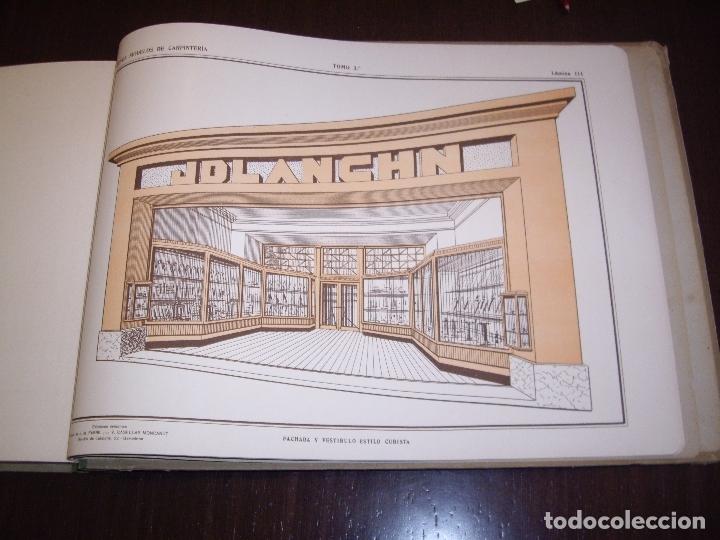 Libros antiguos: CARPINTERIA - NUEVOS MODELOS - TRES TOMOS - Foto 29 - 165194366