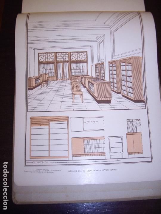 Libros antiguos: CARPINTERIA - NUEVOS MODELOS - TRES TOMOS - Foto 30 - 165194366