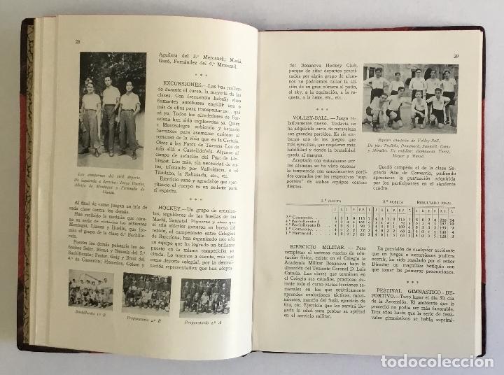 Libros antiguos: COLEGIO BONANOVA. MEMORIA ESCOLAR 1934-1935. - Foto 3 - 165210206