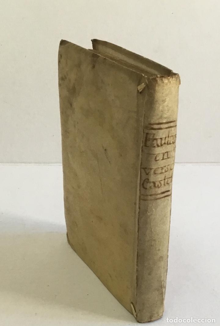 Libros antiguos: FABULAS EN VERSO CASTELLANO PARA EL USO DEL REAL SEMINARIO BASCONGADO... SAMANIEGO, Félix María. - Foto 8 - 165216982