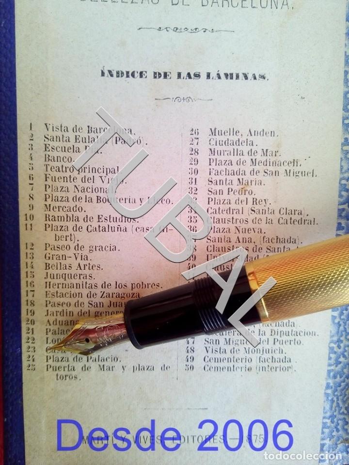 Libros antiguos: 1875 50 ALBUMINAS BELLEZAS DE BARCELONA MARAVILLOSO Y RARISIMO ALBUM EN COMERCIO G6 - Foto 9 - 49974629