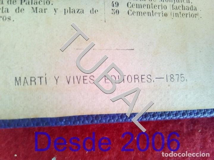 Libros antiguos: 1875 50 ALBUMINAS BELLEZAS DE BARCELONA MARAVILLOSO Y RARISIMO ALBUM EN COMERCIO G6 - Foto 10 - 49974629