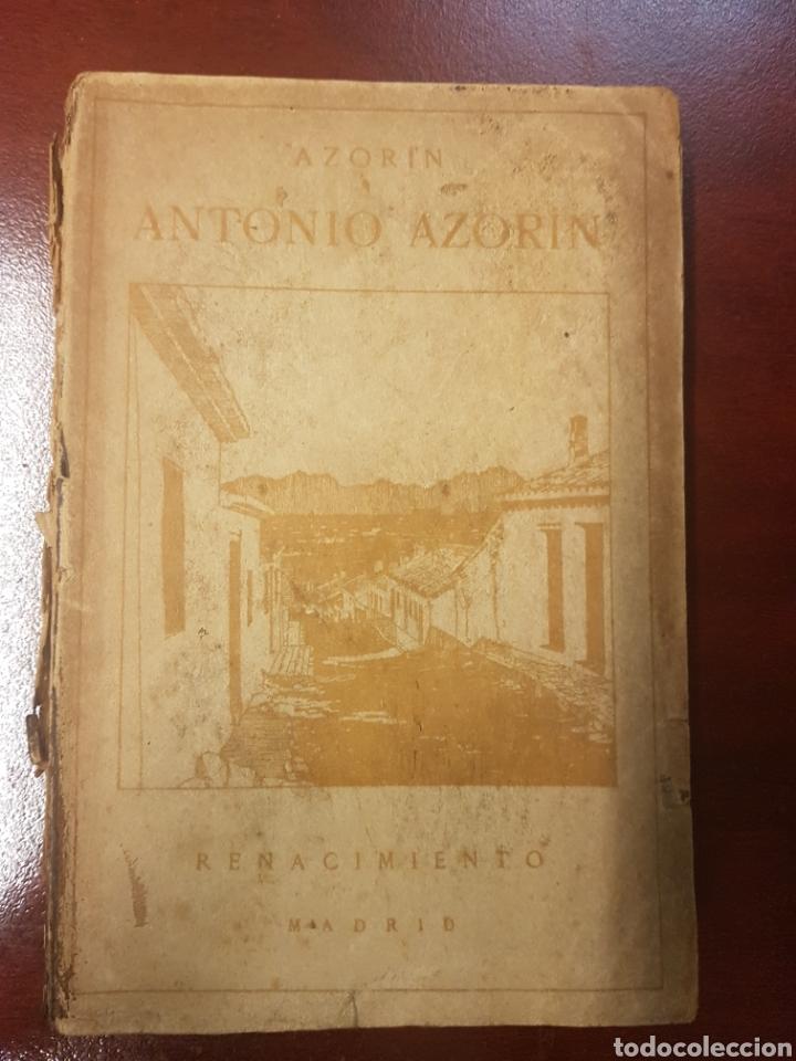 RENACIMIENTO - ANTONIO AZORIN - 1913 (Libros Antiguos, Raros y Curiosos - Literatura - Otros)