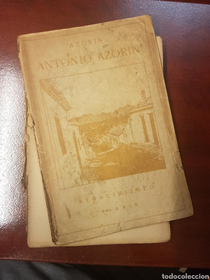 Libros antiguos: Renacimiento - Antonio Azorin - 1913 - Foto 2 - 165296752