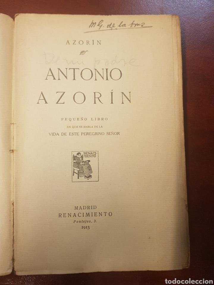 Libros antiguos: Renacimiento - Antonio Azorin - 1913 - Foto 4 - 165296752