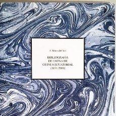 Libros antiguos - Bibliografía de la fauna de Guinea (1831-2000) - 165327886
