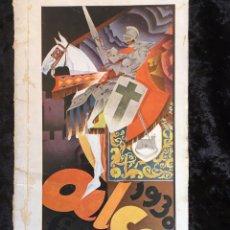 Libros antiguos: ALCOY - FIESTAS Y FERIA - 1930. Lote 165356298