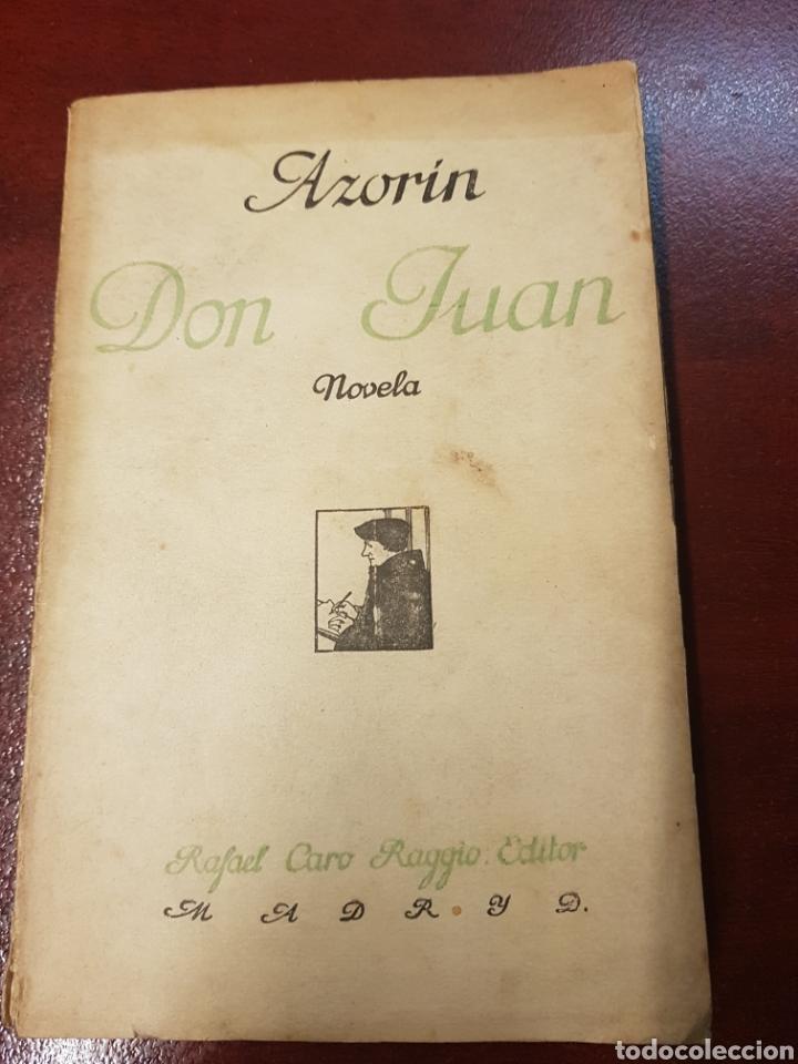 DON JUAN - AZORIN - 1927 (Libros Antiguos, Raros y Curiosos - Literatura - Otros)