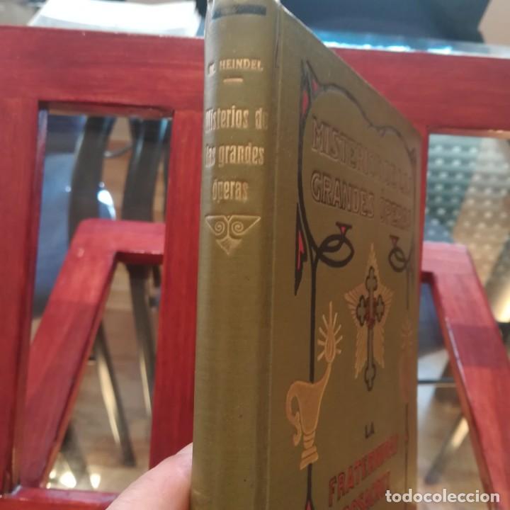 Libros antiguos: MISTERIOS DE LAS GRANDES OPERAS-MAX HEINDEL-FRATERNIDAD ROSACRUZ-LIBRERIA SINTES S/F MAGNIFICO - Foto 2 - 165378366