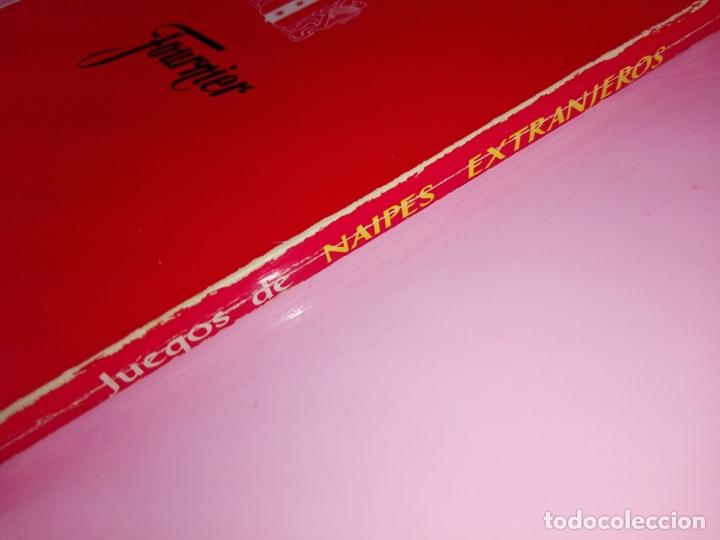 Libros antiguos: LIBRO-JUEGOS DE NAIPES EXTRANJEROS-1983-14ªEDICIÓN-EDITORES HERACLIO FOURNIER-VITORIA.VER FOTOS - Foto 2 - 165402218