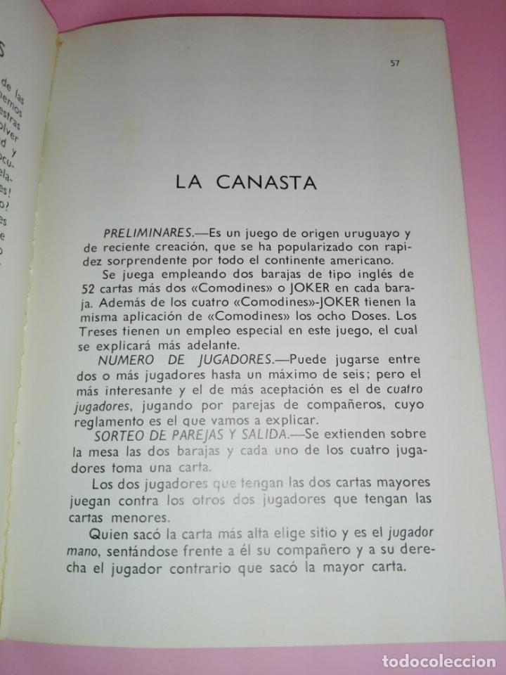 Libros antiguos: LIBRO-JUEGOS DE NAIPES EXTRANJEROS-1983-14ªEDICIÓN-EDITORES HERACLIO FOURNIER-VITORIA.VER FOTOS - Foto 6 - 165402218