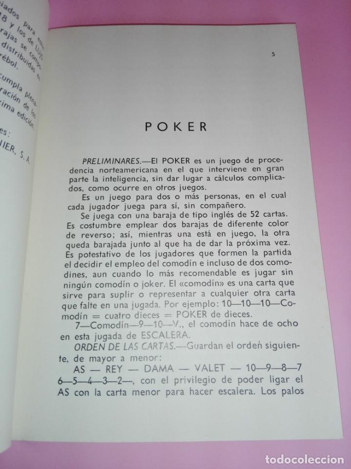Libros antiguos: LIBRO-JUEGOS DE NAIPES EXTRANJEROS-1983-14ªEDICIÓN-EDITORES HERACLIO FOURNIER-VITORIA.VER FOTOS - Foto 7 - 165402218