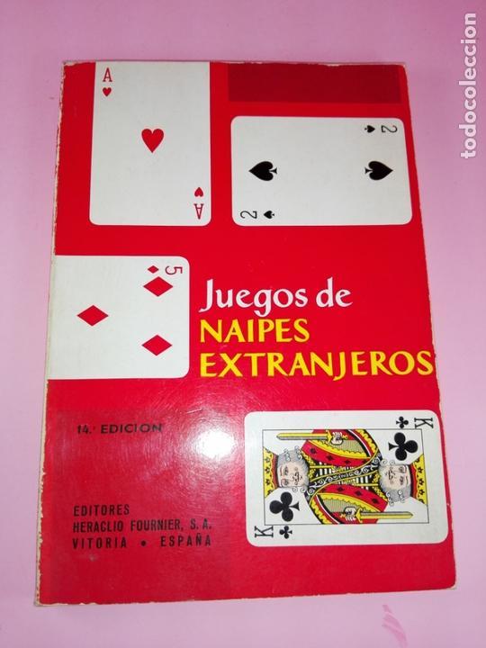Libros antiguos: LIBRO-JUEGOS DE NAIPES EXTRANJEROS-1983-14ªEDICIÓN-EDITORES HERACLIO FOURNIER-VITORIA.VER FOTOS - Foto 9 - 165402218