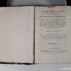 Libros antiguos: TRATADO TEÓRICO Y PRÁCTICO DE LA FABRICACIÓN DE PINTADOS Ó INDIANAS. 1819.. Lote 165490842