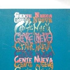 Libros antiguos: LA REVISTA GENTE NUEVA: (1899-1901): ESTUDIO E ÍNDICES/ JOSEFA SÁNCHEZ SANTANA. Lote 165559630