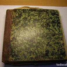 Libros antiguos: INTERESANTE LIBRO DE FACTURAS AÑOS 1920, DE FÁBRICA DE CHOCOLATE, CON RECETAS. RAMÓN TEIXIDÓ.. Lote 165626402