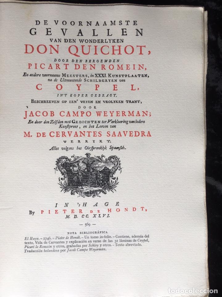 ICONOGRAFIA DE LAS EDICIONES DEL QUIJOTE - INGLESAS Y OTRAS (Libros Antiguos, Raros y Curiosos - Bellas artes, ocio y coleccionismo - Otros)