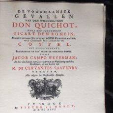 Libros antiguos: ICONOGRAFIA DE LAS EDICIONES DEL QUIJOTE - INGLESAS Y OTRAS. Lote 165633513