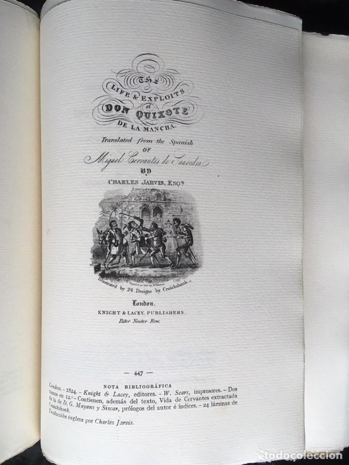 Libros antiguos: ICONOGRAFIA DE LAS EDICIONES DEL QUIJOTE - INGLESAS Y OTRAS - Foto 5 - 165633513