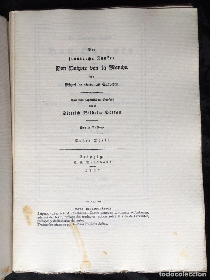 Libros antiguos: ICONOGRAFIA DE LAS EDICIONES DEL QUIJOTE - INGLESAS Y OTRAS - Foto 6 - 165633513