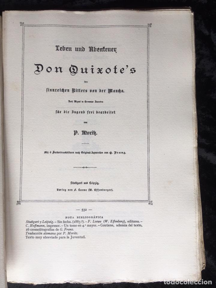 Libros antiguos: ICONOGRAFIA DE LAS EDICIONES DEL QUIJOTE - INGLESAS Y OTRAS - Foto 8 - 165633513