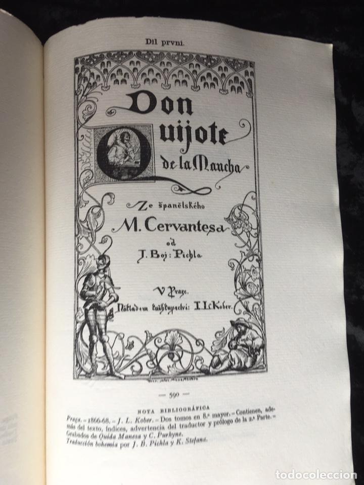 Libros antiguos: ICONOGRAFIA DE LAS EDICIONES DEL QUIJOTE - INGLESAS Y OTRAS - Foto 9 - 165633513