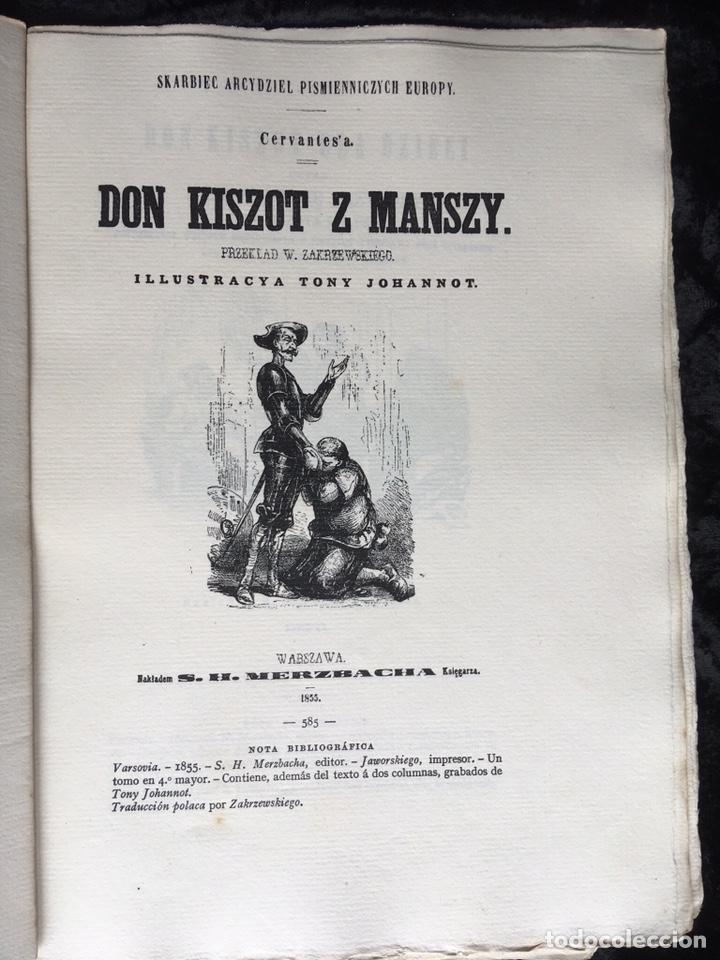 Libros antiguos: ICONOGRAFIA DE LAS EDICIONES DEL QUIJOTE - INGLESAS Y OTRAS - Foto 10 - 165633513