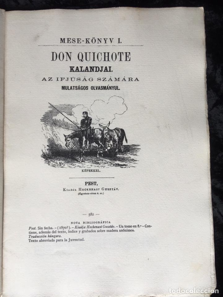 Libros antiguos: ICONOGRAFIA DE LAS EDICIONES DEL QUIJOTE - INGLESAS Y OTRAS - Foto 11 - 165633513