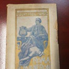 Libros antiguos: ROMA BAJO NERON - I.J. KRASZEWSKI. Lote 165646153
