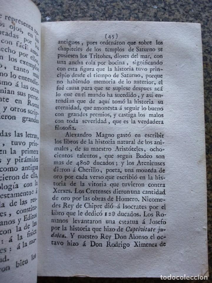 Libros antiguos: DISCURSOS MORALES, POLITICOS E HISTORICOS INEDITOS DE DON ANTONIO DE HERRERA - TOMO 1 -- 1804 -- - Foto 3 - 165652110