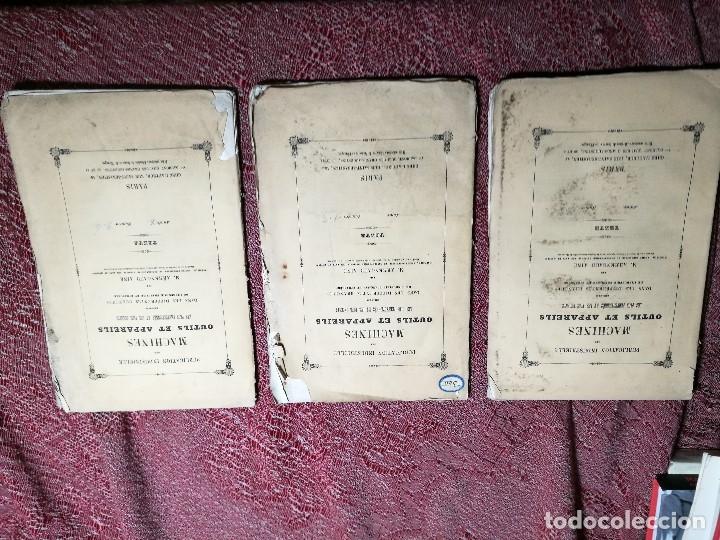 Libros antiguos: machines outils et appareils employes industrie francaise et etrangere-M.ARMENGAUD AINE..PARIS s.XIX - Foto 2 - 165680002