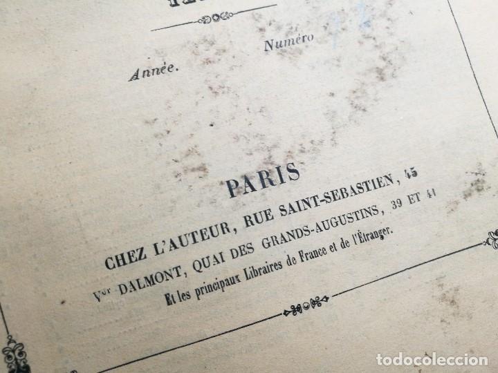 Libros antiguos: machines outils et appareils employes industrie francaise et etrangere-M.ARMENGAUD AINE..PARIS s.XIX - Foto 6 - 165680002