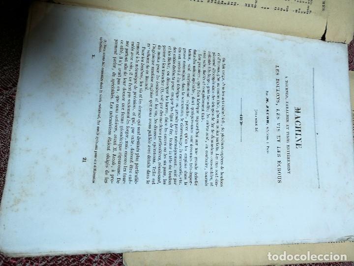 Libros antiguos: machines outils et appareils employes industrie francaise et etrangere-M.ARMENGAUD AINE..PARIS s.XIX - Foto 8 - 165680002