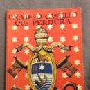 Libros antiguos: MINILIBRO ENCICLOPEDIA PULGA. N- 378. UN VIEJO CASTILLO QUE PERDURA. JESUS QUIBUS.. Lote 165800982