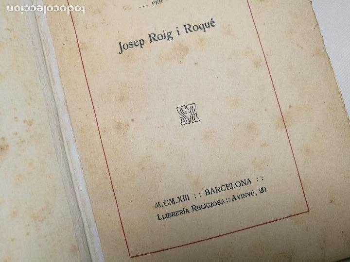Libros antiguos: BIBLIOGRAFIA DEN MANUEL MILA I FONTANALS -J. ROIG ROQUE,1913 DEDICADO A Ramon Picó i Campanar - Foto 26 - 165822682