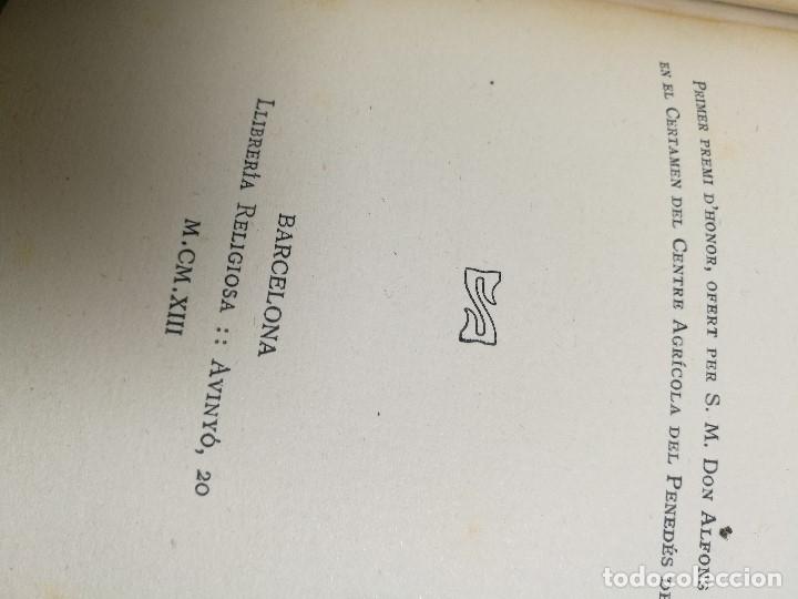 Libros antiguos: BIBLIOGRAFIA DEN MANUEL MILA I FONTANALS -J. ROIG ROQUE,1913 DEDICADO A Ramon Picó i Campanar - Foto 31 - 165822682