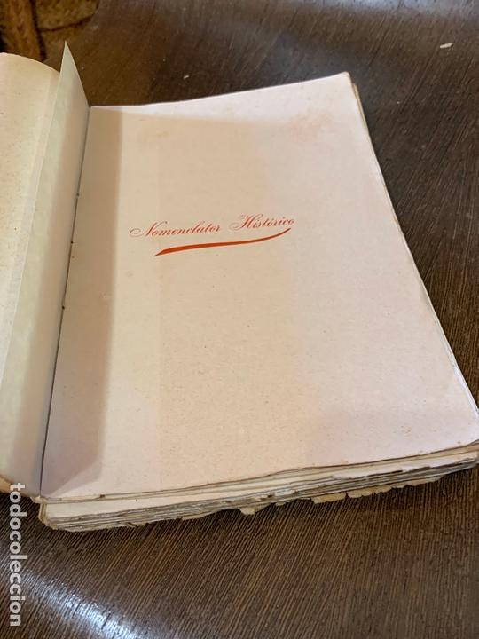 Libros antiguos: Nomenclator historico de las iglesias de Gerona. Monsalvatje. 1908. Ejemplar bibliofilos. 349pags - Foto 4 - 165840690