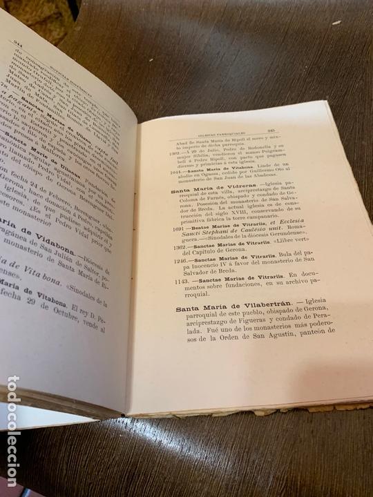Libros antiguos: Nomenclator historico de las iglesias de Gerona. Monsalvatje. 1908. Ejemplar bibliofilos. 349pags - Foto 7 - 165840690