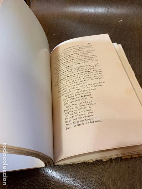 Libros antiguos: Nomenclator historico de las iglesias de Gerona. Monsalvatje. 1908. Ejemplar bibliofilos. 349pags - Foto 12 - 165840690