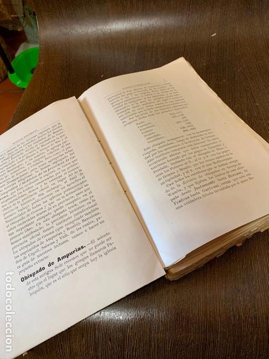 Libros antiguos: Nomenclator historico de las iglesias de Gerona. Monsalvatje. 1908. Ejemplar bibliofilos. 349pags - Foto 13 - 165840690