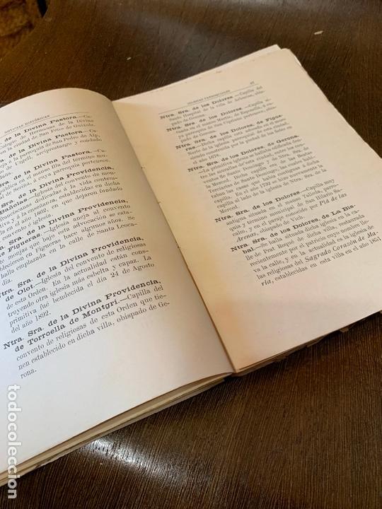 Libros antiguos: Nomenclator historico de las iglesias de Gerona. Monsalvatje. 1908. Ejemplar bibliofilos. 349pags - Foto 14 - 165840690