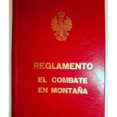 Alte Bücher - REGLAMENTO DE COMBATE EN MONTAÑA - 165926990