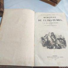 Old books - MEMORIAS DE ULTRA TUMBA,CHATEAUBRIND,BIBLIOTECA ILUSTRADA DE GASPAR Y ROIG,MADRID 1871 - 165980868