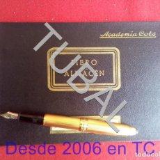 Libros antiguos: TUBAL ACADEMIA COTS LIBRO DE ALMACEN. Lote 166038386