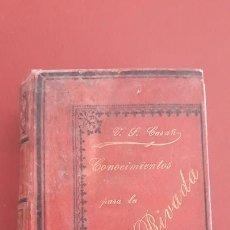 Libros antiguos: CONOCIMIENTOS PARA LA VIDA PRIVADA. V S CASAÑ, 6º EDICION 1894. Lote 166155566