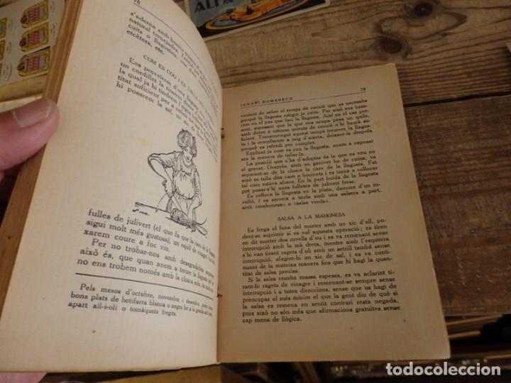 Libros antiguos: La teca Ignacio Domenech libro de cocina catalana - Foto 3 - 166167642
