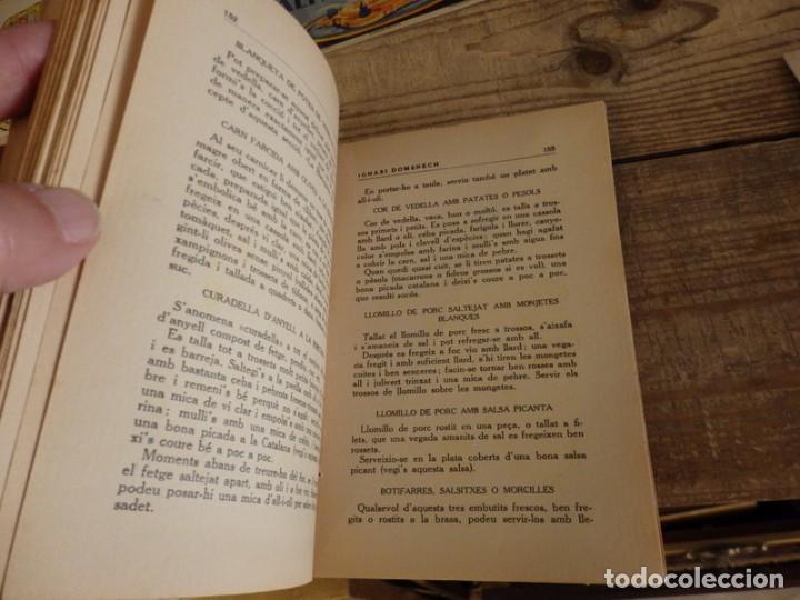 Libros antiguos: La teca Ignacio Domenech libro de cocina catalana - Foto 4 - 166167642
