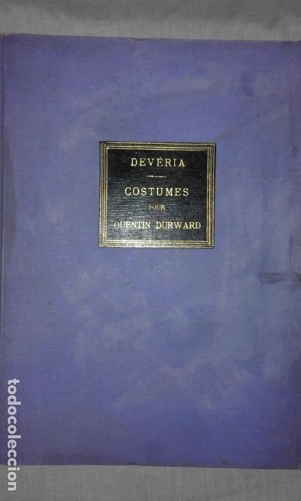 Libros antiguos: COLECCION DE GRABADOS DE ACHILLE DEVERIA - AÑO 1830 - EXCEPCIONAL. - Foto 2 - 166195642