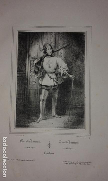 Libros antiguos: COLECCION DE GRABADOS DE ACHILLE DEVERIA - AÑO 1830 - EXCEPCIONAL. - Foto 4 - 166195642