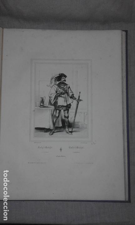 Libros antiguos: COLECCION DE GRABADOS DE ACHILLE DEVERIA - AÑO 1830 - EXCEPCIONAL. - Foto 5 - 166195642